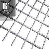 厂家直供国标8@100带肋钢筋网 护坡钢筋网