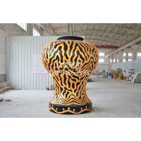 雕塑-玻璃钢花瓶雕塑-花钵雕塑