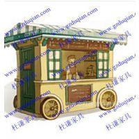 方便购买售卖的流动售货亭 能让消费者汇聚一堂的售卖亭