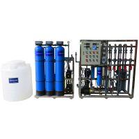 制药厂一体化超纯水EDI设备 玻璃钢材质成套高纯水系统 保证医药用水安全晨兴制造