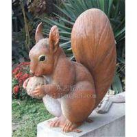 厂家直销 动物雕像 仿真松鼠 仿真动物 创意工艺品