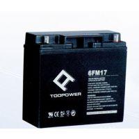 TOOPOWER天力蓄电池6FM12铅酸蓄电池12v12ah型号规格
