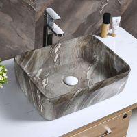 陶瓷彩色新款卫生间阳台洁具高档彩色洁具洗手盆