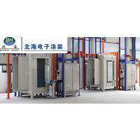 四位静电喷粉房喷粉设备生产线bh-836潍坊北海电子涂装