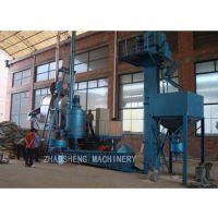 山东朝盛混砂机 热法覆膜砂生产线 铸造业用高强度 高精度 覆膜砂成套设备