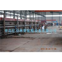 亿双林供应铝合金雕花板材发泡生产线设备