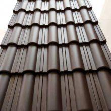 木屋屋面瓦 木别墅屋顶瓦 木凉亭仿古瓦片 大连凡美横向(并有加强筋)合成树脂瓦