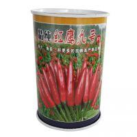 辣椒罐铁盒 尖椒种子罐 红椒包装盒 圆形铁罐定制
