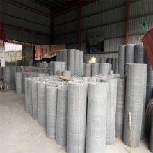 镀锌钢丝轧花网规格 黑钢丝轧花网型号 矿筛网规格