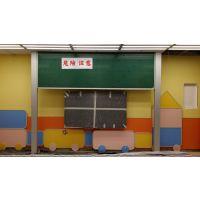 深圳汤美日通黑板厂家 升降粉笔板 教学设备落地式独立升降黑板多功能教室搪瓷板面