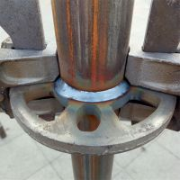 供应盘扣式脚手架 承载强 能够防滑排水确保施工安全
