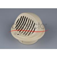 新风不锈钢球形管帽 圆形百叶风帽 外墙进气口 工程配件厂家 工程定做新风配件