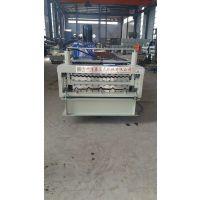浩鑫厂家现货供应860-910双层彩钢压瓦机设备