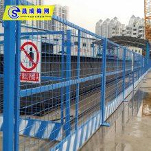 施工现场临边护栏 楼层安全防护门广州规范 阳江电梯门定制