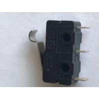 微动开关3脚带弯柄 5安电流 ST-5R03微动小型开关 厂家直销