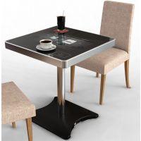 鑫飞3D4D5D6D智能餐桌 多功能智能餐桌 触摸上网点餐桌 液晶屏防水厂家送软件