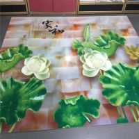 3d瓷砖玻璃背景墙木板亚克力金属PVC密度板UV万能平板打印机