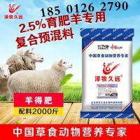 肉羊育肥催肥饲料配方/肉羊专用预混料