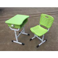 麦德嘉MDJ-KZ05生产学校家具单人学生可升降课桌椅带抽屉书网上课板式桌子