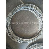 吉迈特镀锌对焊钢丝圈 铁丝开口式圆形圈 金属丝O型圈厂家