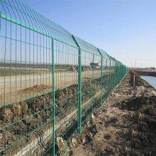 衡阳市护栏网 绿色双边丝护栏网厂家 养殖围栏网哈尔滨厂家