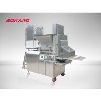 上校鸡块 汉堡肉饼成型设备 博康牌CXJ600全自动成型机 高产量 省人工