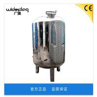 广旗厂家直销江苏10T纯净水不锈钢无菌水箱 南京市大型工业处理纯水箱