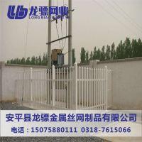 商场防护栏杆 超市防护围栏 锌钢护栏厂家