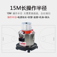 食品加工专用无需电源式吸颗粒物少量水渍的威德尔气动工业吸尘器