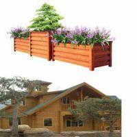 供青海组合花箱和西宁木屋建造质量优