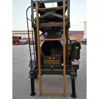 山东日照郑科320型自升爬梯式砼搅拌机高质高效