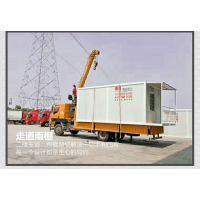 上海住人集装箱夹芯板活动板房A级防火集装箱