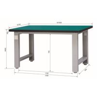 重型工作台(台面厚40mm)E-XTG1575|E-XTG1875|E-XTG2175