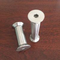 耀恒 供应内六角猪鼻孔螺栓 不锈钢子母套螺丝 M5M6M8