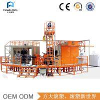 方大滚塑 转塔式滚塑设备FD3-2600 塑料成型机 模具加工制造