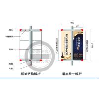 铝合金道旗架型材铝边条直供广东清远