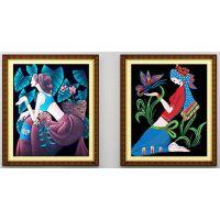 北京龙易轩钻石画加盟 引起创业风潮