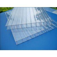 上海典晨直销拜耳三层阳光板 耐力板 铝合金配件 承接采光工程