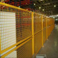 雄丰 定做 车间隔离网 绿色铁网围栏 工厂防护焊接网