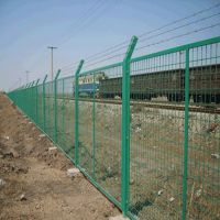 朋英 高速公路框架护栏网 浸塑低碳钢丝防护网 厂家生产销售