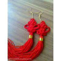 厂家直销210D冰丝流苏线 DIY 红线细玉线台湾红绳子线