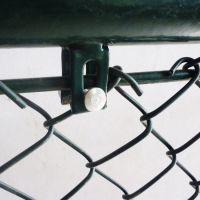 朋英南京结实耐候PVC热镀锌田径场隔离网规格齐全