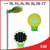 新款一体化太阳能景观灯 太阳花LED灯 太阳能景观灯 节能环保灯