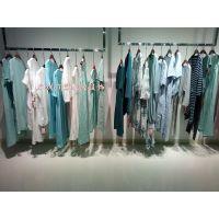 欧美品牌原创设计师风格纯色折扣女装货源 上海莫名 和言桑蚕丝女装尾货供应