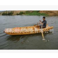 楚风供应水上游玩钓鱼船 景区手划小木船 旅游观光船 漂流船
