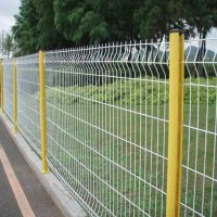 厂家供应1.2*3米桃型柱护栏 体育场围栏 车间隔离栅