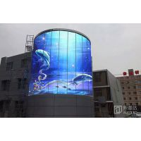 户外LED透明广告屏 玻璃幕墙系列 P12