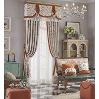成都窗帘设计|窗帘装饰|7克拉一帘优雅、满窗惊艳