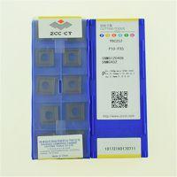 株洲钻石数控车削刀具SNMG120408--YBC252黑金刚通槽外圆车刀片