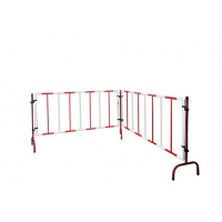 杭州不锈钢折叠围栏1.1乘2.6米型号可定制